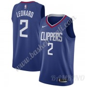 Canotte Basket Bambino Los Angeles Clippers 2019-20 Kawhi Leonard 2# Blu Icon Edition Swingman..
