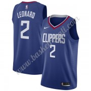 Maglie NBA Los Angeles Clippers 2019-20 Kawhi Leonard 2# Blu Icon Edition Canotte Swingman..