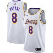 Maglie NBA Los Angeles Lakers 2019-20 Kobe Bryant 8# Bianca Association Edition Canotte Swingman..