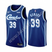 Maglie NBA Los Angeles Lakers 2019-20 Dwight Howard 39# Blu Classics Edition Canotte Swingman..