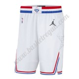 NBA 2019 Bianca All Star Game Swingman Pantaloncini Basket