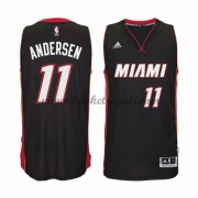 Maglie NBA Chris Andersen 11# Road 2015-16 Canotte Miami Heat..