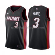 Maglie NBA Miami Heat 2018 Canotte Dwyane Wade 3# Icon Edition..