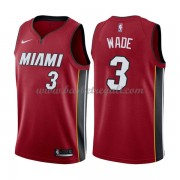 Maglie NBA Miami Heat 2018 Canotte Dwyane Wade 3# Statement Edition..