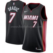Maglie NBA Miami Heat 2018 Canotte Goran Dragic 7# Icon Edition..