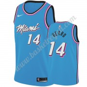 Maglie NBA Miami Heat 2019-20 Tyler Herro 14# Blu City Edition Canotte Swingman..