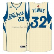 Magliette Basket Minnesota Timberwolves 2015 Karl-Anthony Towns 32# NBA Natale Swingman..
