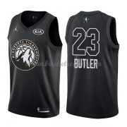 Divise Basket Minnesota Timberwolves s Jimmy Butler 23# Nero 2018 All Star Game..