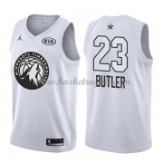 Divise Basket Minnesota Timberwolves s Jimmy Butler 23# Bianca 2018 All Star Game..