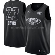 Divise Basket New Orleans Pelicans s Anthony Davis 23# Nero 2018 All Star Game..