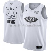 Divise Basket New Orleans Pelicans s Anthony Davis 23# Bianca 2018 All Star Game..