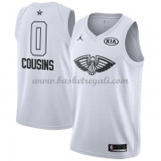 Divise Basket New Orleans Pelicans s DeMarcus Cousins 0# Bianca 2018 All Star Game..