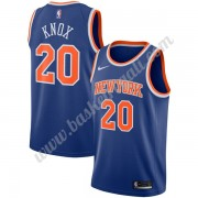Maglie NBA New York Knicks 2019-20 Kevin Knox 20# Blu Icon Edition Canotte Swingman..