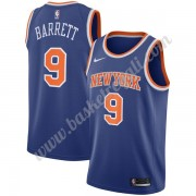 Maglie NBA New York Knicks 2019-20 RJ Barrett 9# Blu Icon Edition Canotte Swingman..