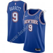 Maglie NBA New York Knicks 2019-20 RJ Barrett 9# Blu Statement Edition Canotte Swingman..