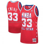 Divise Basket New York Knicks s Patrick Ewing 33# Red 1989 All Star Hardwood Classics Swingman..