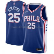 Maglie NBA Philadelphia 76ers 2018 Canotte Ben Simmons 25# Icon Edition..