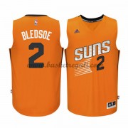 Maglie NBA Eric Bledsoe 2# Orange Alternate 2015-16 Canotte Phoenix Suns..