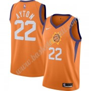 Maglie NBA Phoenix Suns 2019-20 DeAndre Ayton 22# Arancia Finished Statement Edition Canotte Swingma..