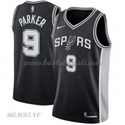 Canotte Basket Bambino San Antonio Spurs 2018 Tony Parker 9# Icon Edition..