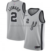 Maglie NBA San Antonio Spurs 2018 Canotte Kawhi Leonard 2# Statement Edition..
