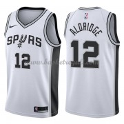 Maglie NBA San Antonio Spurs 2018 Canotte LaMarcus Aldridge 12# Association Edition..
