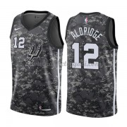 Maglie NBA San Antonio Spurs 2018 Canotte LaMarcus Aldridge 12# City Edition..