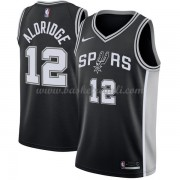 Maglie NBA San Antonio Spurs 2018 Canotte LaMarcus Aldridge 12# Icon Edition..