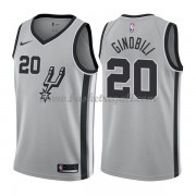 Maglie NBA San Antonio Spurs 2018 Canotte Manu Ginobili 20# Statement Edition..