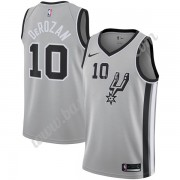 Maglie NBA San Antonio Spurs 2019-20 DeMar DeRozan 10# Grigio Statement Edition Canotte Swingman..