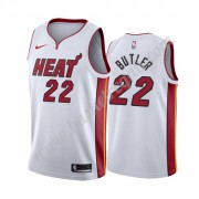 Maglie NBA Miami Heat 2019-20 Jimmy Butler 22# Bianca Association Edition Canotte Swingman..