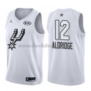 Divise Basket San Antonio Spurs s LaMarcus Aldridge 12# Bianca 2018 All Star Game..