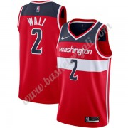 Maglie NBA Washington Wizards 2019-20 John Wall 2# Rosso Icon Edition Canotte Swingman..